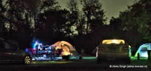 Night at the Camping Site