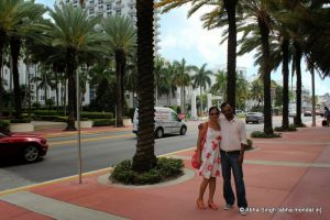 Collins Ave at Miami Beach